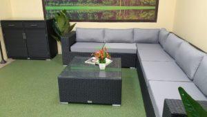 Фото-Luisa Lounge set 3 Садовая мебель ротанг