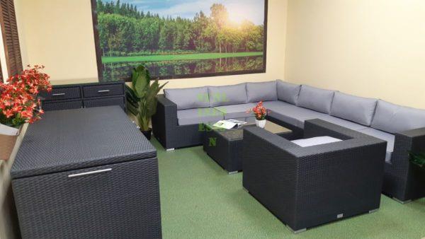 Фото-Luisa Lounge set 5 Комплект мебели из ротанга