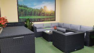 Фото-Luisa Lounge set 5 Плетеная мебель
