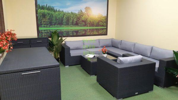 Фото-Luisa Lounge set 5 Садовая мебель плетеная