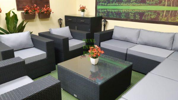 Фото-Luisa Lounge set 6 Мебель садовая плетеная