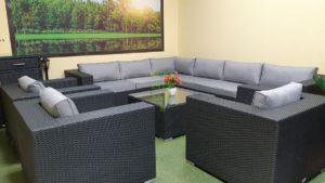 Фото-Luisa Lounge set 6 Плетеная мебель