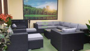 Фото-Luisa Lounge set 8 Плетеная мебель