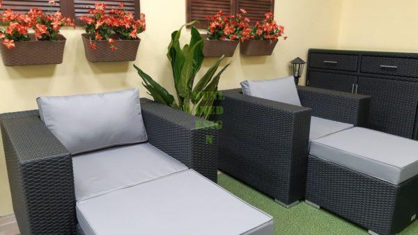 Luisa Relax set 2 Плетеная мебель из ротанга