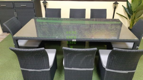 Фото-Luisa dining set 8 Мебель из ротанга