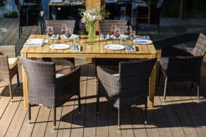Садовая плетеная мебель AURA +Aroma 6