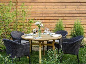 Садовая мебель Modena D 120 + Warsaw 4