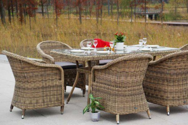 Садовая мебель ротанг Espresso