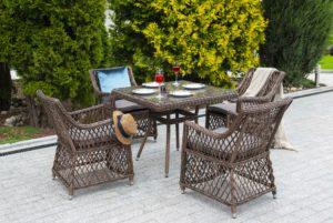 Фото-Irish brown Плетеная мебель ротанг