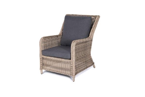 Кресло из искусственного ротанга Гляссе