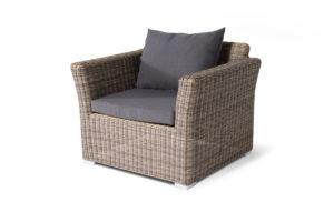 Фото-Кресло из искусственного ротанга Капучино