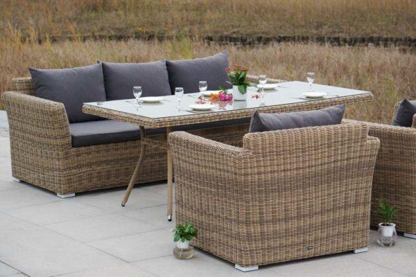 Мебель из ротанга обеденная Mocaccino