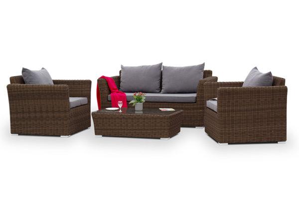 "Плетеная мебель ""Cappuccino"" 1 brown"