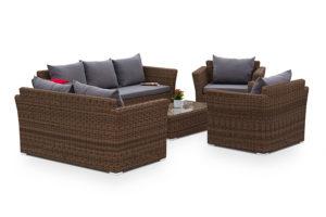 Фото-Плетеная мебель Cappuccino brown 2