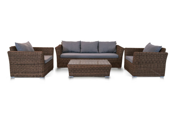 Фото-Плетеная мебель Cappuccino brown 4SiS