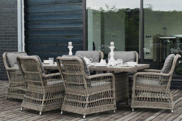 Плетеная мебель Cesena 4SiS