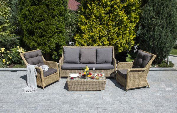 Фото-Ротанг мебель для отдыха Глясе