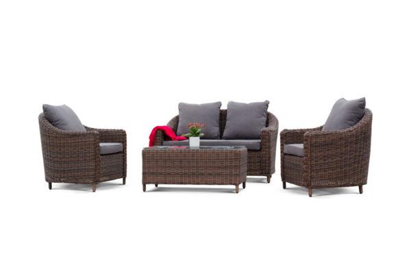 Фото-Садовая мебель из ротанга Con panna 4Sis
