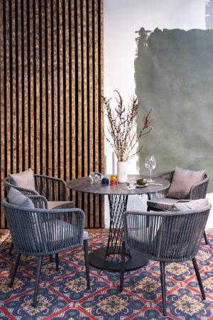 Фото-Мебель обеденная для веранды Diego