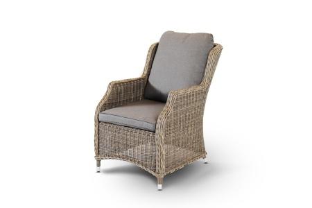 Фото-Кресло из искусственного ротанга обеденное Neapolis