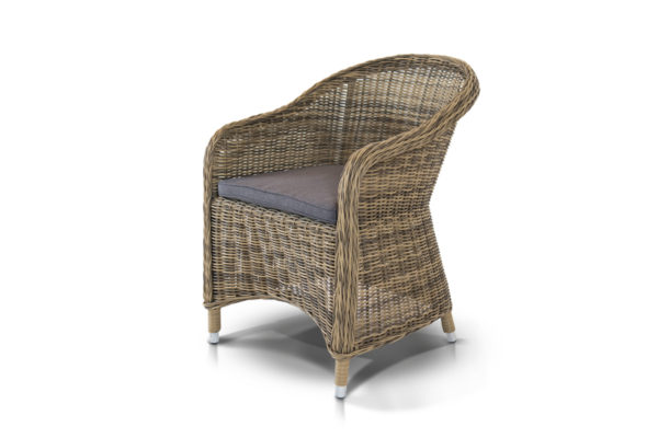 Кресло Ravenna beige из искусственного ротанга