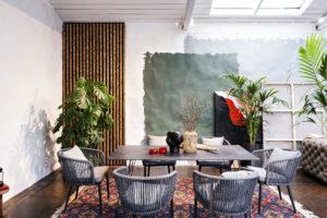 Столовая мебель для веранды и гостиной Russo