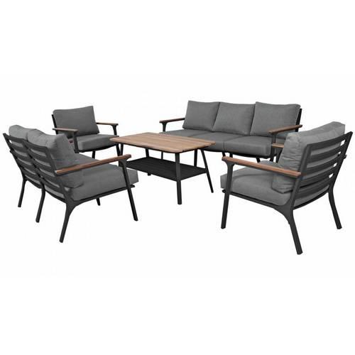 Садовая мебель из алюминия CONCORDE XL black
