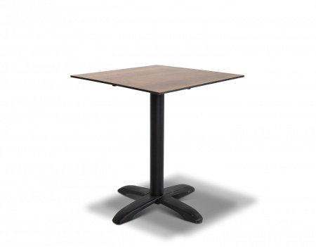 Фото-Стол для кафе Cafe 64 brown wood HPL