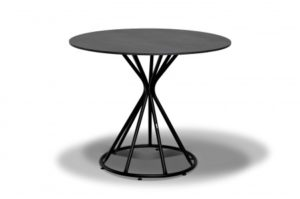 Фото-Стол для кафе Carlos D90 grey granite HPL