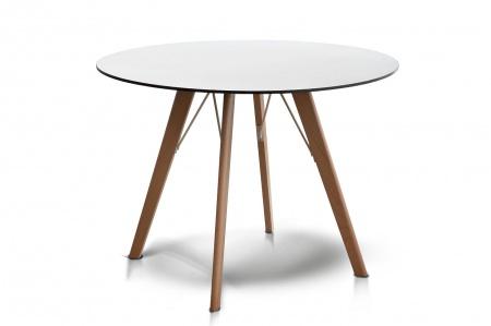Стол для кафе Francesco D90 milk HPL