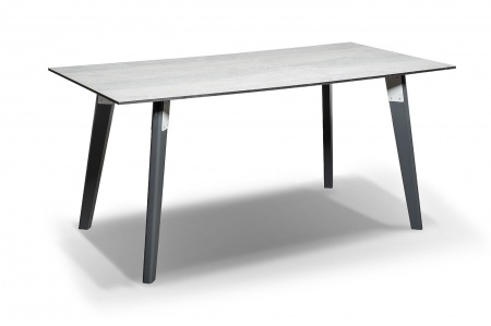 Фото-Стол для кафе Marco 160 light grey HPL