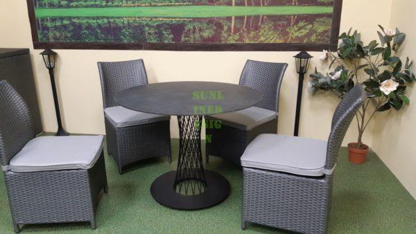 Фото-Lotus set 4 Мебель из искусственного ротанга