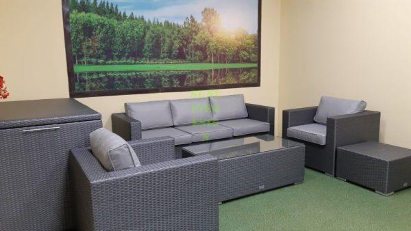 Мебель из искусственного ротанга Louisiana grey