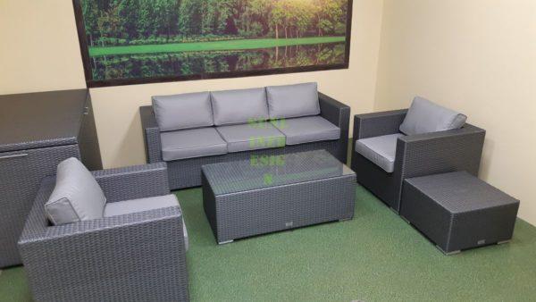 Фото-Louisiana grey Плетеная мебель для отдыха