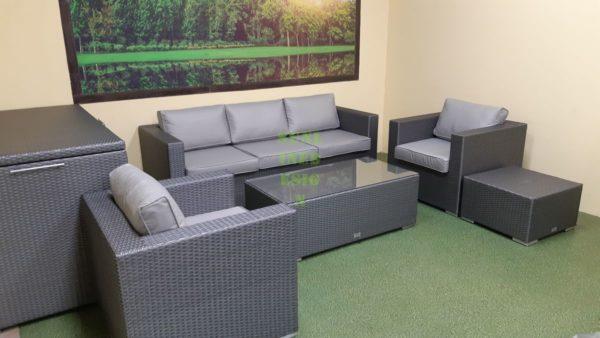 Louisiana grey Садовая мебель из ротанга