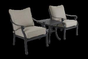 """Садовая мебель """"Arras"""" lounge balcony set black"""