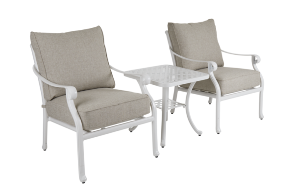 "Садовая мебель ""Arras"" lounge balcony set white"