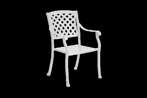 Arras Кресло садовое обеденное белый