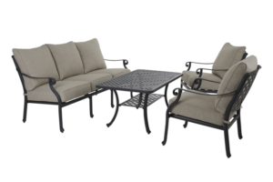 """Садовая мебель """"Arras"""" lounge black"""