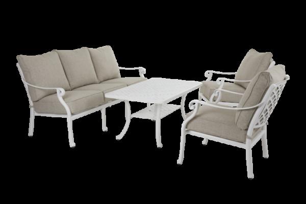"""Садовая мебель """"Arras"""" lounge white"""