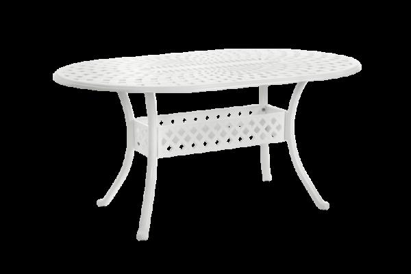 Arras Стол садовый белый 156