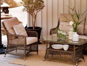 FLADER Brafab комплект мебели из ротанга
