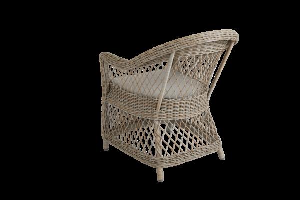 KAMOMILL beige Плетеное кресло Brafab