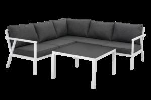 "Садовая мебель из алюминия ""RANA"" lounge white 85"
