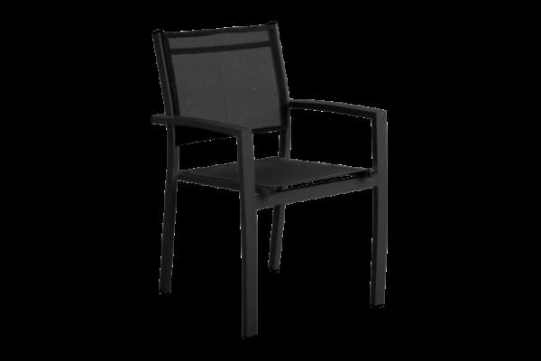 """Кресло садовое из текстилена """"Rana"""" black"""