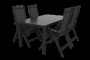 Rana black 150+4 Садовая мебель set 2