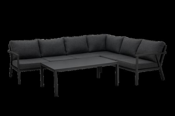Rana black lounge Садовая мебель 5099Н-80-73 правый