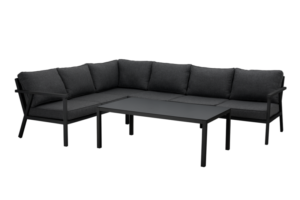 Rana black lounge Садовая мебель 5099V-80-73 левый