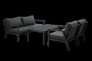 Rana lounge black 137 Садовая мебель 5088-80-73