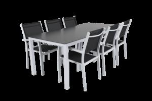 Rana white 200+6 Садовая мебель set 1